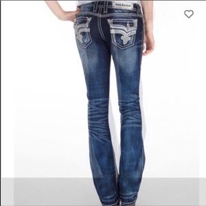 Rock Revival Kai Stretch Bootcut Jeans